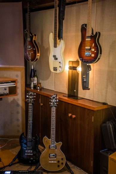 Some of the guitars available to you during your next session with us.